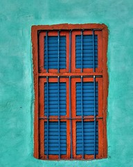 Window (Ghada Elchazly) Tags: egypt aswan nubia windows walls painting colors colorful arts