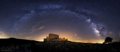 Guadalerzas (A.Coleto) Tags: panoramica via lactea noche night milky way