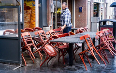 No Business (265/365) (Walimai.photo) Tags: chair silla table mesa restaurant business negocio amsterdam holanda holland netherlands lx5 lumix paasonic street calle