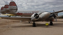 Beechcraft C18S AT-7 / T-7 Navigator 42-2438 in Tucson (J.Comstedt) Tags: aircraft flight aviation aeroplane museum airplane us usa planes pima space tucson az beech beechcraft 18 at7 t7 navigator usaf 422438 usaaf air johnny comstedt
