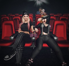 LOTD 046 (The Essence Of Fashion) Tags: catwa deetalez maitreya lamb gabriel riot fameshedx flite notfound littlebones adorsy scandalize epic foxcity pseudo secondlife blog fashion pose backdrop 3d virtual movie theatre cinema film