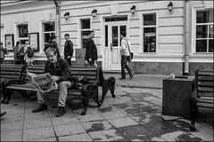 DR150515_054D (dmitryzhkov) Tags: russia moscow documentary street life human monochrome reportage social public urban city photojournalism streetphotography people bw dmitryryzhkov blackandwhite everyday candid stranger