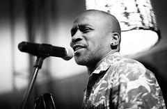 untitled (ChrisRSouthland) Tags: athens bebop nikkor85mmf18 nikond850 streetportraits portrait singer blackandwhite blackwhite schwarzweiss monochrome performance concert