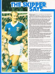 Ipswich Town vs Grasshoppers Zurich - 1979 - Page 13 (The Sky Strikers) Tags: ipswich town grasshopper club zurich grasshoppers uefa cup portman road official match day magazine 25p