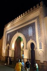 Bab Bou Jeloud (jmaxtours) Tags: babboujaloud thebluegate 1913 feselbali souk fezmedina medina frenchoccupation gate arch arc