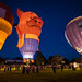 Balloon glow: If pigs could fly