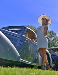 1937 Horch 853 Stromlinien Coupe Manuela von Bernd Rosemeyer (pontfire) Tags: 1937 horch 853 stromlinien coupe manuela von bernd rosemeyer 1er rallye automobile enghien les bains le touquet paris plage