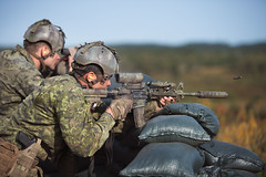 Canadian International Sniper Concentration (www.combatcamera.forces.gc.ca) Tags: caf fac fortsfiersprets strongproudready 5cdndiv 5div 5divca 5edivisionducanada 5thcanadiandivision cfbgagetown cplgenevievelapointe newbrunswick oromocto peoplepersonne canada ca