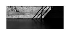 Susquehanna & Tidewater Canal Shadows... (roylee21918) Tags: havredegrace hdg harford maryland susquehanna monochrome le dxo photolab