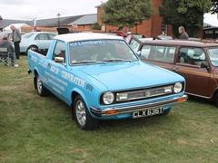 1978 Morris Marina 1.7 HL pickup (quicksilver coaches) Tags: morris marina pickup clx636t blautumnrally miltonkeynes