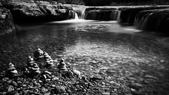 Bull Creek (Jim Nix / Nomadic Pursuits) Tags: jimnix nomadicpursuits austin bullcreek bullcreekgreenbelt waterfall nature hike trail creek stream sony sonya7ii longexposure 10stop filter monochrome