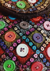 Local Handicrafts (Zohaib Usman (1M Thanks)) Tags: handicrafts beautifulhandicrafts embroideredhandicrafts embroiderydesign handembroidery embroideryideas embroiderystitches embroideredhandbag stitching stitcheddesign sewingandstitching handmade diy diyideas zohaibusmanphotography poshe550 buttons buttonscloseup