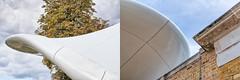 Chucs Details (pni) Tags: diptych tree building construction tile architecture detail chucs serpentine restaurant hydepark uk18 london uk england unitedkingdom pekkanikrus skrubu pni