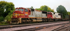 PRLX 205, CEFX 6020, Perkins, Appleton, 19 Sept 18 (kkaf) Tags: appleton perkins cefx soo sd60 leaser warbonnet sd75m a447