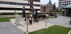 Milwaukee Trip (heytampa) Tags: milwaukee wisconsin wi grohmann museum art artwork rooftopgarden welder statue