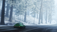 911 (nuvoIari) Tags: forzamotorsport horizon4 videogame porsche 911 winter forest trees snow car road flickrfriday fastcar england