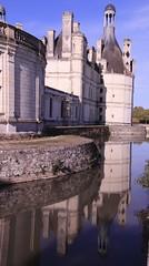 Reflets de Château ... ( In Explore le 16 Octobre 18 ) (OGNB) Tags: 800d canon ancien bâtiment parc reflets eau chambord château