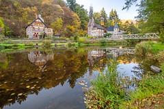 Treseburg (wollenickel) Tags: harz spiegelungen bunt autumn herbst bode