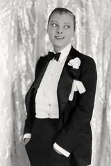 4598833a (suitgirl9971) Tags: various dorothy mackaill portrait tuxedo onset film crystal cup 1927 one person only woman female adult caucasian indoors hollywood actress celebrity movie star entertainment 1920s historical vintage retro bw ghiv stock notpersonality 28165718