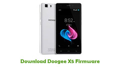 Doogee X5 Firmware (AndroidRomFree.com) Tags: stock rom flash file firmware android
