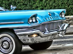 1957 Chrysler New Yorker DSK 148.... Photoshopped (BIKEPILOT, Thx for + 5,000,000 views) Tags: 1957 chrysler newyorker dsk148 photoshopped photoshop blue car vehicle classic vintage automobile camberleycarshow camberley surrey uk england britain americana