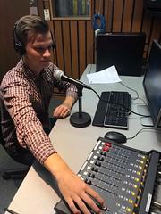 In the Recording Booth (graysonrudzki) Tags: radio editing news journalism bcit bcit2019