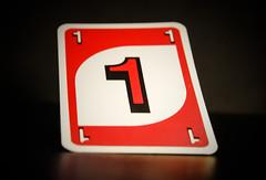 One (Jose Rahona) Tags: macromondays macro mondays hmm vowels card one red