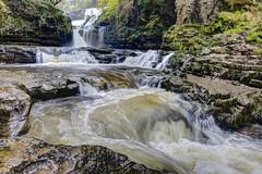 Pressure drop. (pauldunn52) Tags: sgwd isaf clun gwyn waterfall brecon beacons national park wales cascade