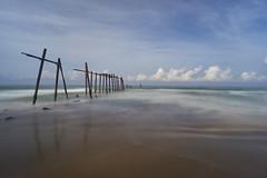 Bridge to nowhere! (Tom Helleboe) Tags: sunrise loxia aleenta phangnga thailand