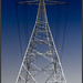 transmission tower - electricity pylon