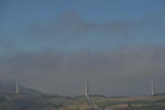 La voie des airs (Michel Seguret Thanks for 14.8 M views !!!) Tags: france aveyron millau pont bridge viaduc viaduct brouillrd fog mist brume michelseguret nikon d800 pro larzac