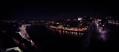 Porto by night en panorama (erwancalves) Tags: iphone panorama roadtrip 2018 street night portobynight travel holidays porto portugal