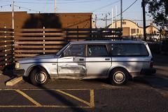 Volvo (Curtis Gregory Perry) Tags: portland oregon volvo wagon station 1990 1991 1992 1989 dent wreck crash accident door blue nikon d810 240 automóvil coche carro vehículo مركبة veículo fahrzeug automobil