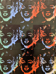 """Nine Marilyns"", Andy Warhol (1979/86) (Joey Hinton) Tags: sanfrancisco california unitedstates musuem modern art andy warhol marilyn monroe google pixel2 andriod smartphone cellphone cameraphone phone"