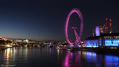 London Eye (Aleks Photo (Aleks Studio)) Tags: londra london londoneye night townscape westminsterbridge river bridge westminster londonsummer londonnight aleksphoto