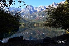 Lago di Tovel - Italy (Biagio ( Ricordi )) Tags: tovel lago lake montagna trentino italy nuvole riflessi