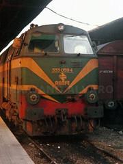 333.059 (Mariano Alvaro) Tags: 333059 renfe verde locomotora diesel tren vagon j coruña estacion rias altas galicia