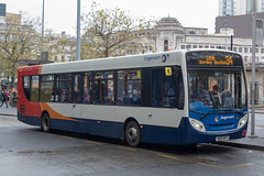 Stagecoach SK15HFV (Mike McNiven) Tags: stagecoach manchester alexanderdennis enviro300 leigh wigan piccadilly piccadillygardens busstation