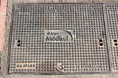 Méditel (So Cal Metro) Tags: manhole utility cover vault phone telephone meditel communications telecom telecommunications morocco maroc marrakech