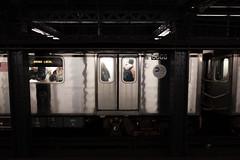 Bronx Local (wwward0) Tags: cc door manhattan mta nyc platform subway track train underground wwward0