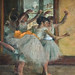 DEGAS Edgar,1880-81 - Le Foyer de la Danse (Philadelphie) - Detail 04