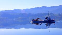 Osfjord i Etnefjorden 29. mai (bjarne.stokke) Tags: hordaland norway norge norwegen noreg speiling reflections