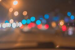 Bukeh curitiba (Everson Mayer) Tags: bukeh noite brilho luz light night flare roa stret car view road