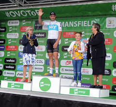 AWP Tour of Britain Mansfield 4 (Nottinghamshire County Council) Tags: tob nottinghamshire cycling race bicycles tourofbritain 2018 notts bike mansfield podium tour britain