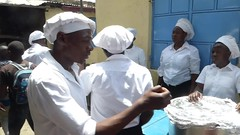 Lunch almost ready (prondis_in_kenya) Tags: kenya nairobi colddryseason kayole tujisaidie school vbs holiday lunch udp urbandevelopmentprogramme asc caterer video