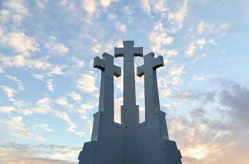 Three Crosses in Kalnai Park, Vilnius