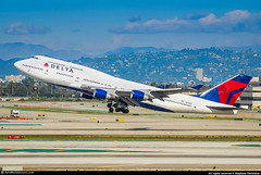 [LAX.2010] #Delta.Air.Lines #DL #Boeing #B747 #N672US #awp (CHR / AeroWorldpictures Team) Tags: delta air lines boeing 747451 msn 30267 1223 eng pw pw4056 reg n672us cab c65y338 rmk fleet number 6312 history aircraft first flight built site everett kpae wa usa delivered northwestairlines nw nwa tsf deltaairlines dl dal reconfigured c48w42y286 wfu stored marana pinal airpark mzj az b747 b744 b747400 american airlines losangeles lax klax airport planespotting california ca nikon d80 nikkor 70300vr lightroom raw aeroworldpictures awp chr 2010