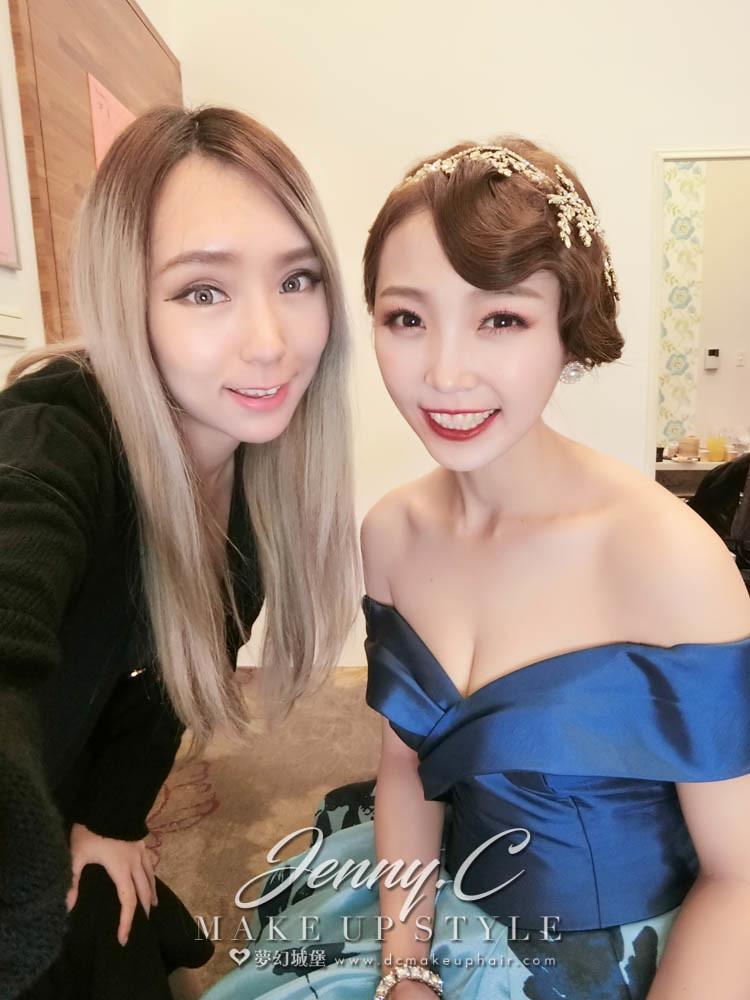 【新秘蓁妮】bride沛雲 訂結婚造型 / 彰化全國麗園飯店