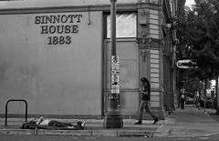 Sinnott House - 1883 Portland Oregon (coljacksg) Tags: portland wierd street scene sleeping homless gx8 panasonic sleeper not sin