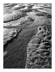 170105_141126_iphone5s_the beach 1/9 (A Is To B As B Is To C) Tags: aistobasbistoc b belgië belgium oostende ostend noordzee northsea beach lowtide sand bw blackwhite blackandwhite monochrome iphone5s phone phonography abstract detail fragment